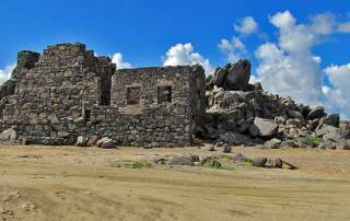 Bushiribana Gold Mine Ruins, Aruba 4x4 Adventure