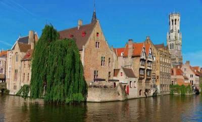 Rozenhoedkaai Canal View, Belfry, Visit Bruges