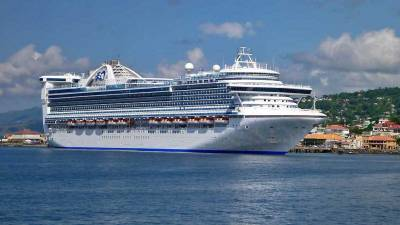 Caribbean Princess, Roseau, Visit Dominica