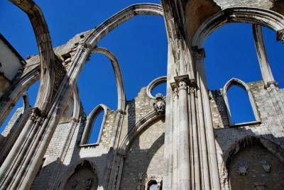 Carmo Convent Earthquake Ruins, Visit Lisbon