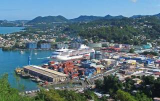 Castries, Cruise Ship Terminal, Visit St Lucia