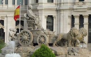 Cibeles Fountain, City Hall, Madrid Tour
