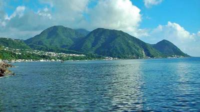 Dominica, Approaching Roseau, Visit Dominica