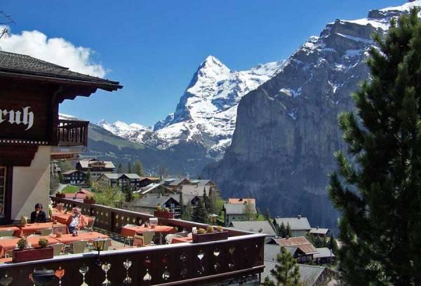 Eiger Mountain, Swiss Alps, Visit Interlaken