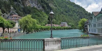 Aare River, Visit Interlaken, Switzerland