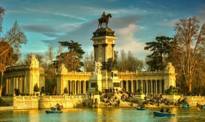King Alfonso Monument, Retiro Park, Visit Madrid