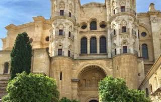Málaga Cathedral Entrance, Málaga Tour, Spain