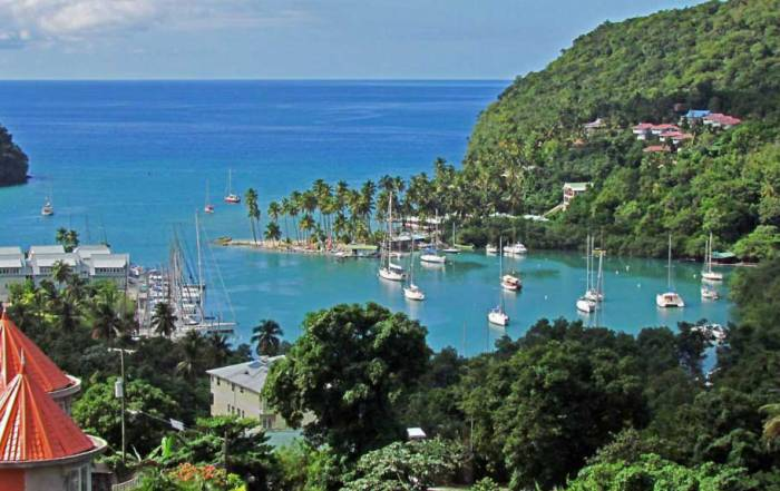 Marigot Bay, Visit St Lucia