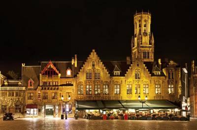 Market Square, Belfry Tower, Visit Bruges