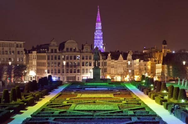 Mont des Arts, Visit Brussels