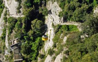 Montserrat Cable Car, Visit Barcelona