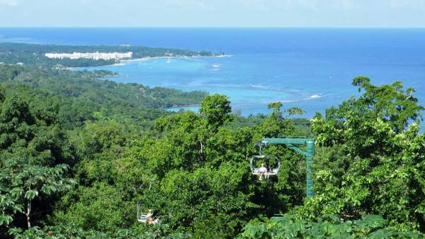 Mystic Mountain, Sky Explorer Aerial Tram, Ocho Rios Shore Excursion