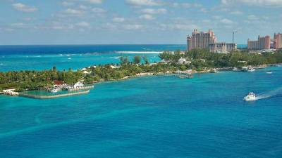 Nassau Harbor Entrance, Atlantis, Visit the Bahamas