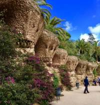 Park Güell Pathways, Barcelona Tour
