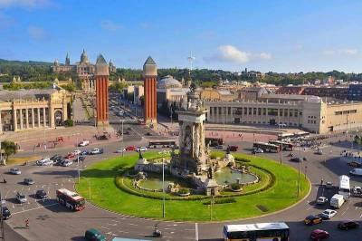 Plaza España, Plaça d'Espanya, Visit Barcelona
