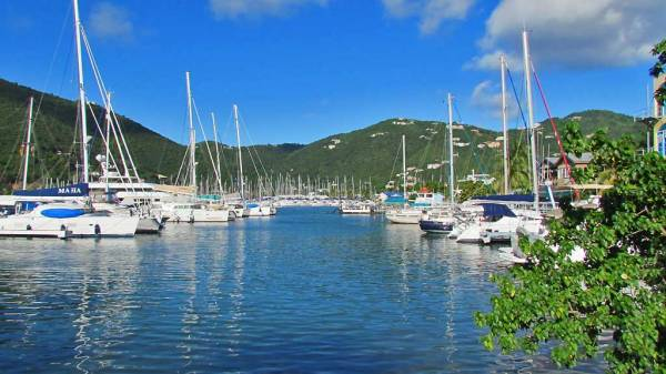 Road Town Marina, Tortola, Visit the BVI