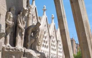 Sagrada Familia, Southwest Exit, Barcelona Tour
