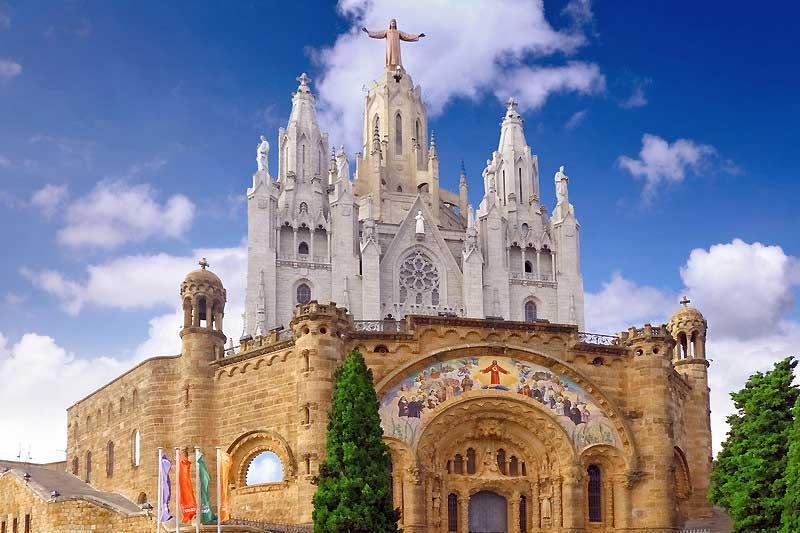 Visit barcelona sagrada familia park guell la rambla - Placa kennedy barcelona ...