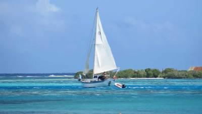 Sail Boat, Moorea Reef, Visit Moorea