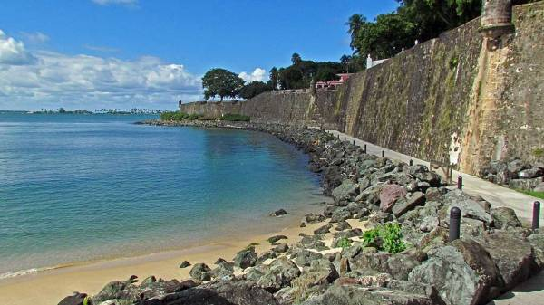 Sea Wall, Old San Juan, Visit Puerto Rico