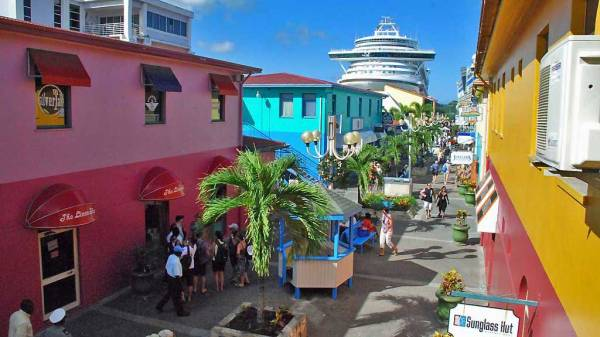 St John's Port, Visit Antigua