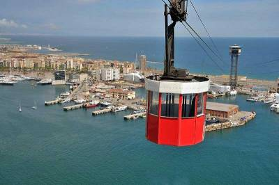 Teleférico Harbor Cable Car, Visit Barcelona