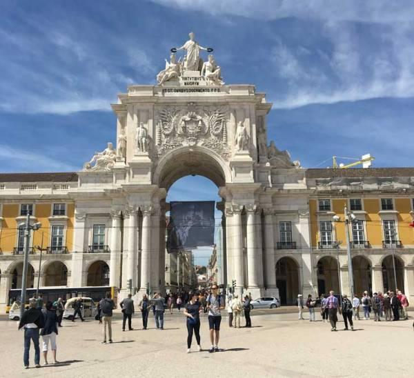 Triumphal Arch, Rua Augusta, Commerce Square, Visit Lisbon