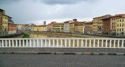 Arno River, Pisa Self Guided Tour