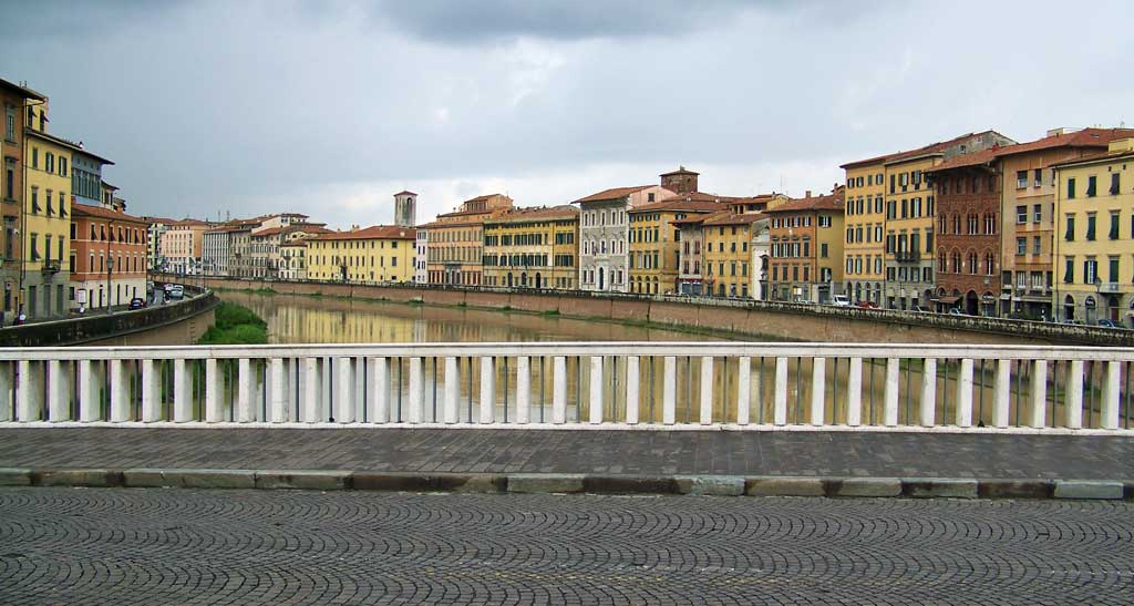 Arno River, Pisa Self Guided Tour
