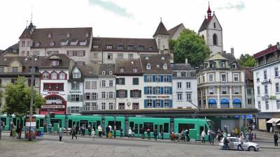 Barfüsser Square, Visit Basel