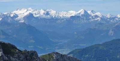 Bernese Oberland from Mount Pilatus, Visit Lucerne