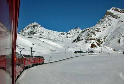 Bernina Express, Visit St Moritz