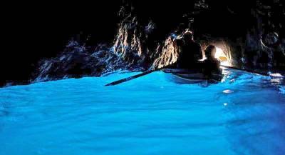 Blue Grotto, Grotta Azzurra, Visit Capri