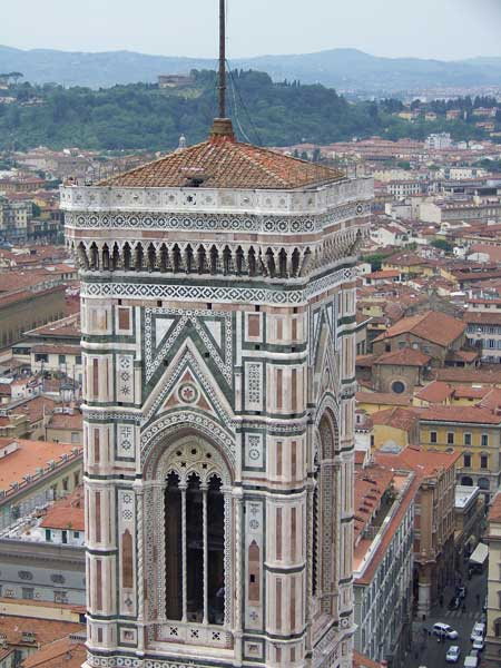 Campanile, Florence Cathedral, Florence Visit