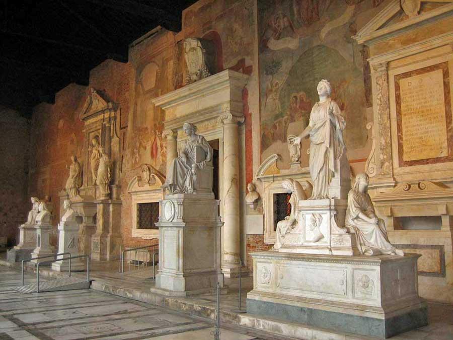 Campo Santo Cemetery, Pisa Self Guided Tour