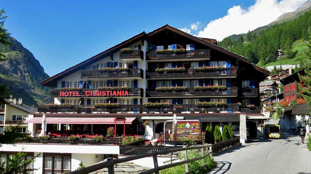 Christiania Hotel, Visit Zermatt
