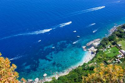Capri Coastline, Visit Capri