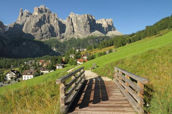 Colfosco, Sella Group, South Tyrol, Visit the Dolomites