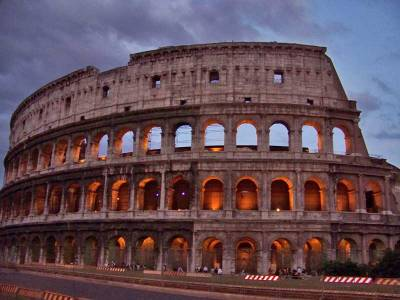 Colosseum at Night, Visit Rome