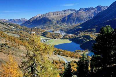 Engadine Valley near St Moritz, Visit St Moritz