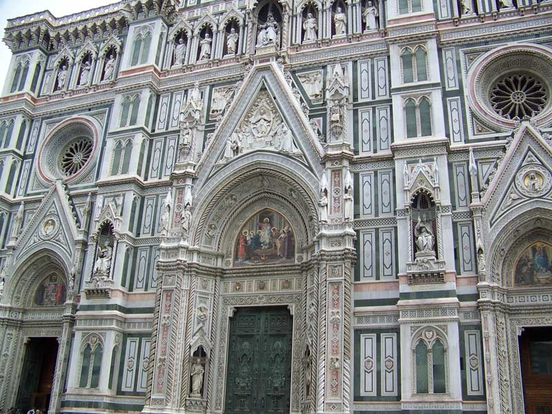Florence Cathedral Exterior, Florence Visit