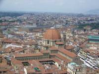 Florence Cathedral view to Basilica San Lorenzo, Florence Visit