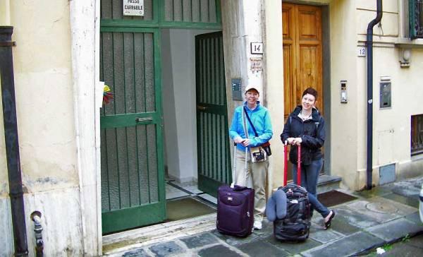Gli Arlecchini Hostel, Hard to Find, Pisa Self Guided Tour