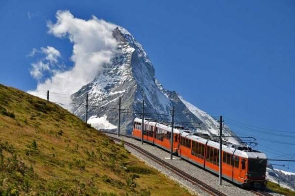 Gornergrat Cog Train, Matterhorn, Visit Zermatt