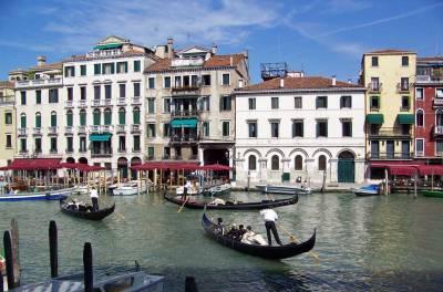 Grand Canal Gondolas, Visit Venice, Italy
