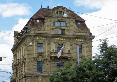 Grand Hotel Les Trois Rois, Visit Basel