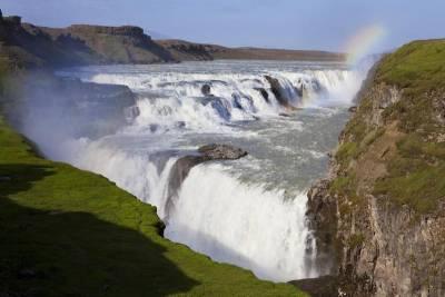 Gullfoss Waterfall, Visit Reykjavik, Iceland