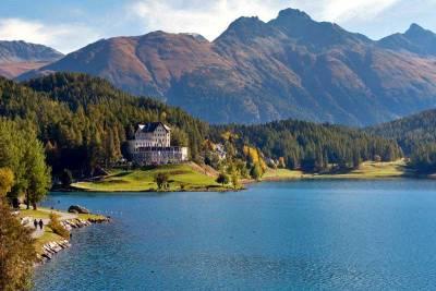 Hotel-Restaurant Waldhaus am See, St Moritz Lake, Visit St Moritz
