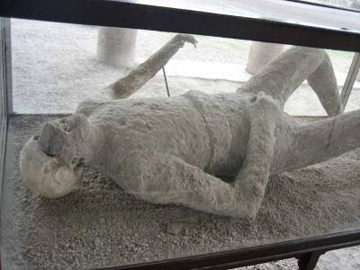 Human Plaster Cast Remains, Pompeii Day Trip
