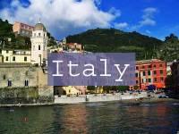 Italy Title Page, Vernazza, Cinque Terre